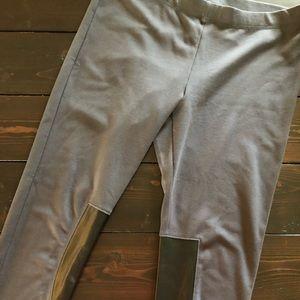 Victoria's secret leather panel legging/pants